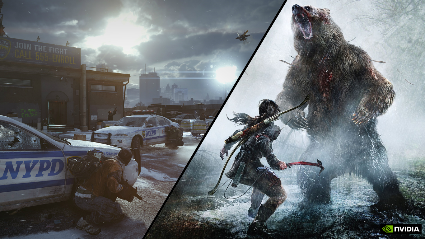 Rise of the Tomb Raider � Tom Clancy�s The Division