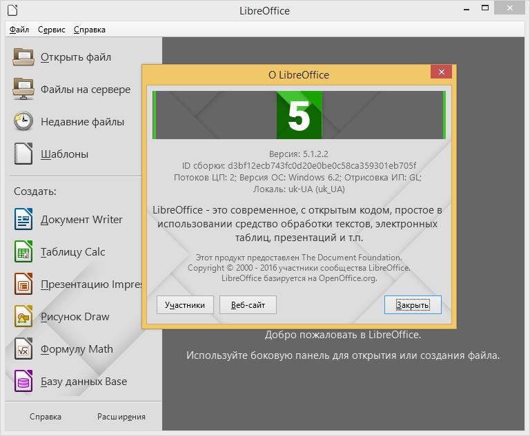 LibreOffice 5.1.2 добавил интеграцию в OneDrive