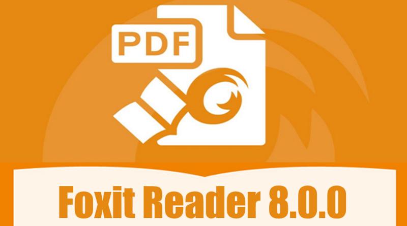 Foxit Reader 8.0.0