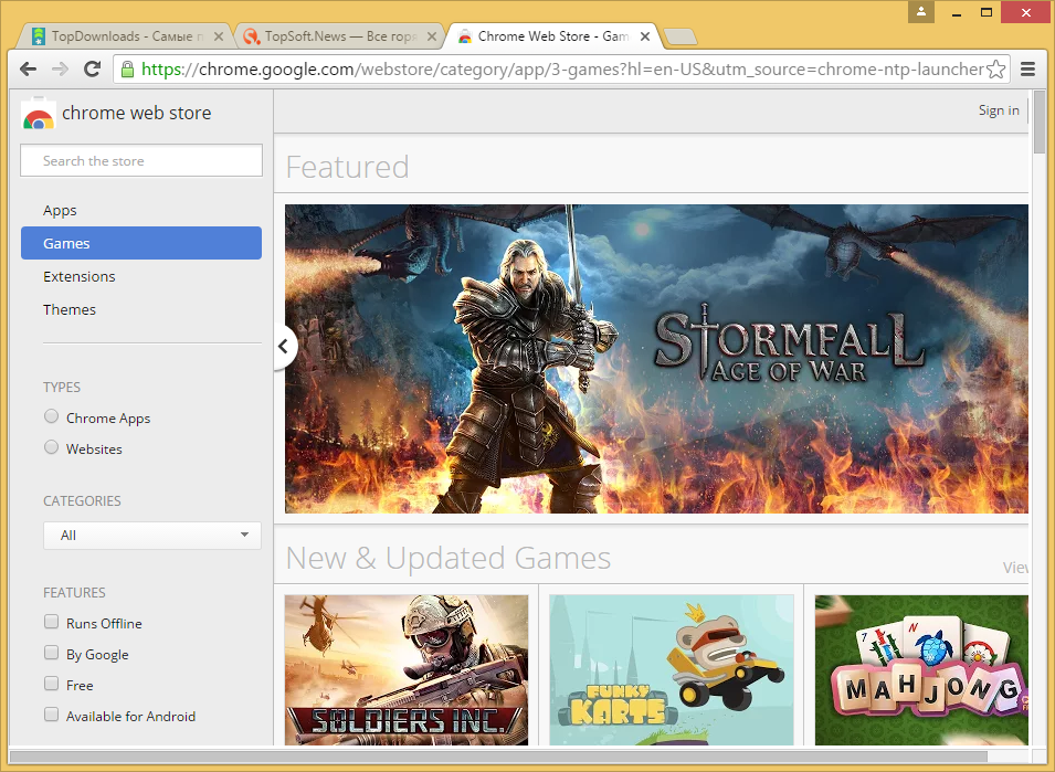 Google Chrome 52.0.2