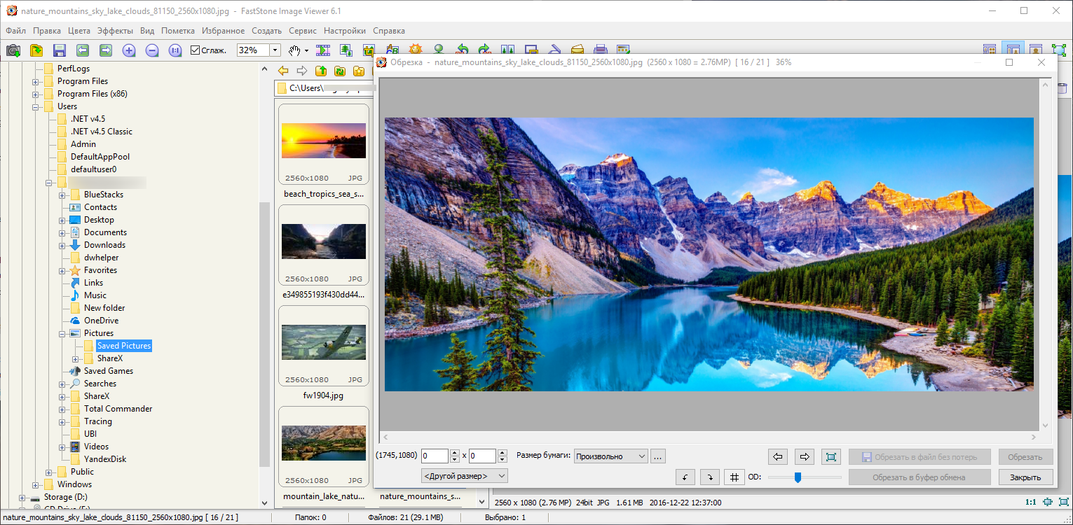 FastStone Image Viewer 6.1