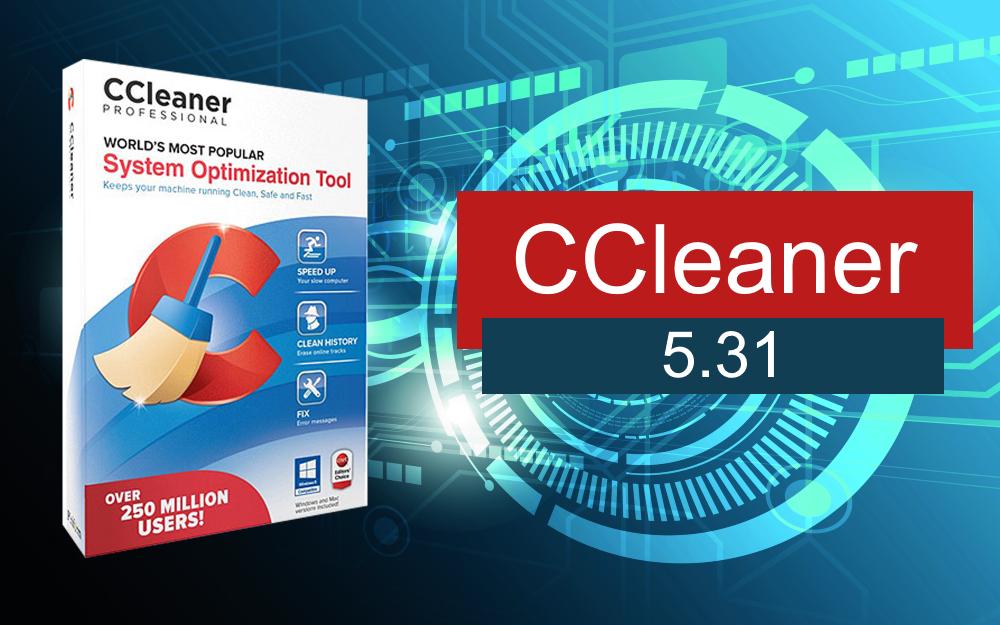 CCleaner 5.31