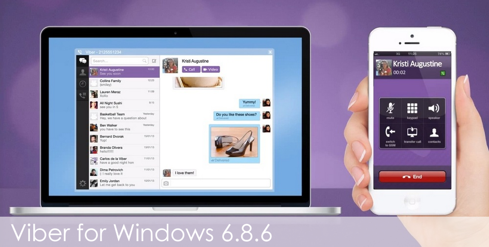Viber for Windows 6.8.6