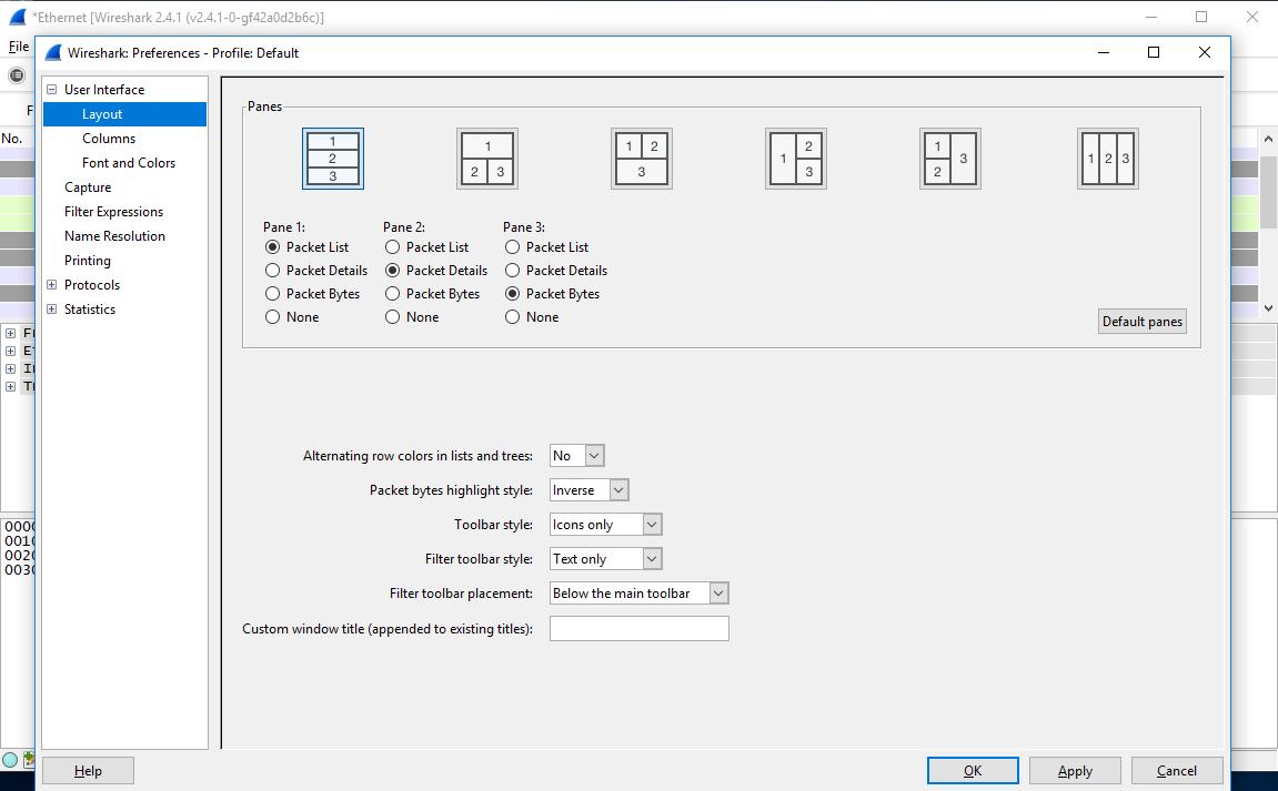 Wireshark 2.4.1 получил поддержку мониторов с высоким разрешением