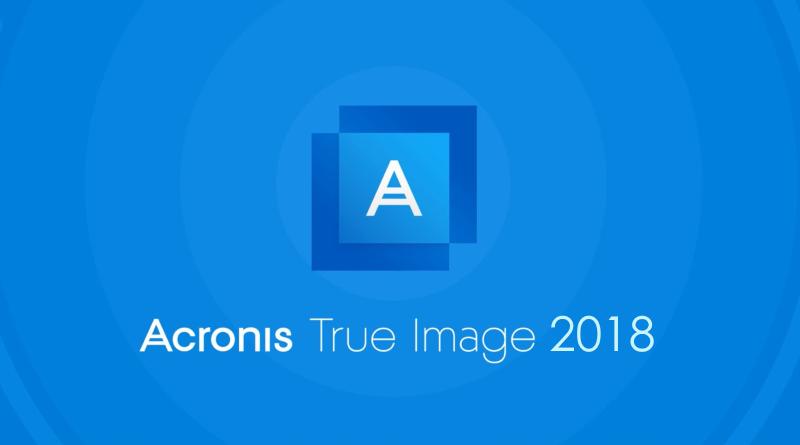 Acronis True Image 2018