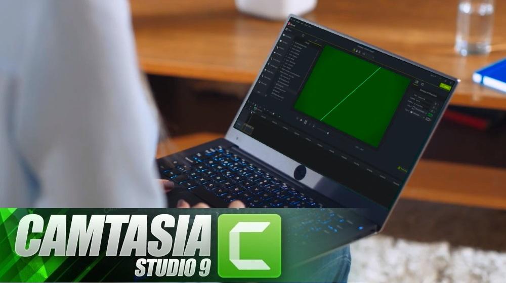 Camtasia Studio 9.1.2 изменил цвет интерфейса для лучшего восприятия
