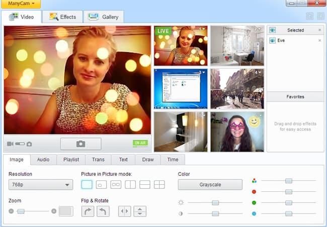 ManyCam 6.4.1 исправил проблемы с добавлением эффектов к веб-камерам