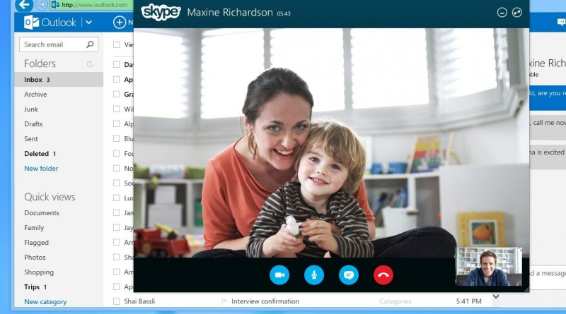 Skype - видеозвонки