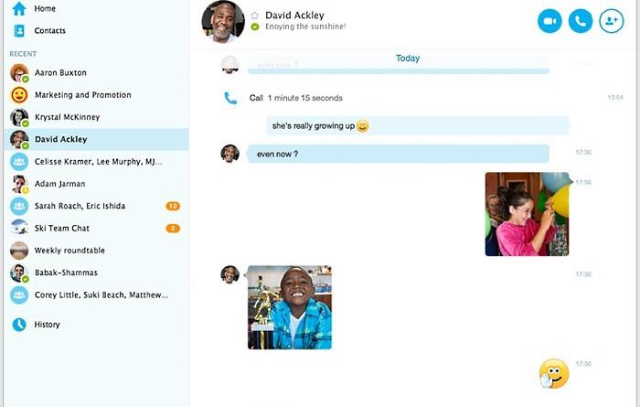 Skype - новые анимированные смайлы