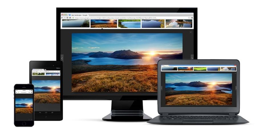 Google Chrome поддерживает синхронизацию на разных компьютерах и мобильных устройствах