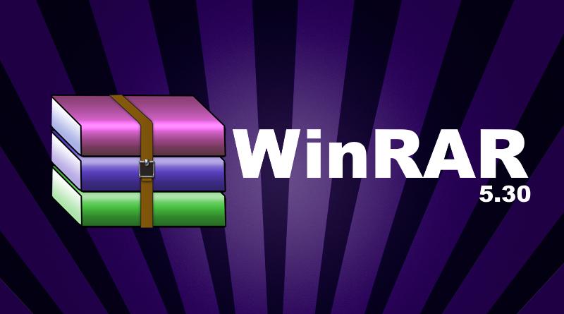WinRAR 5.30