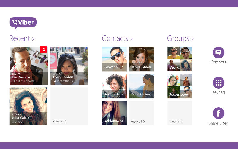 Viber для Windows 10