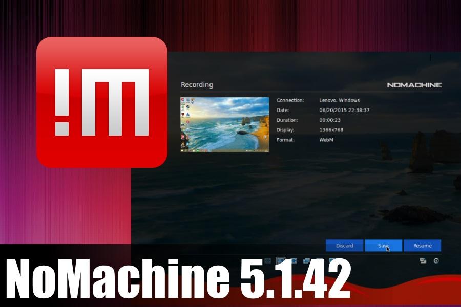 NoMachine 5.1.42