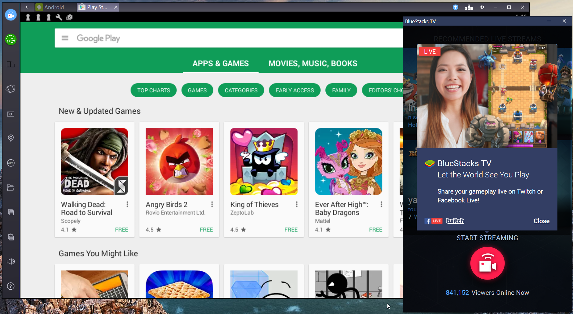 BlueStacks App Player