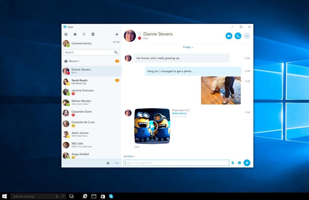 Skype Desktop