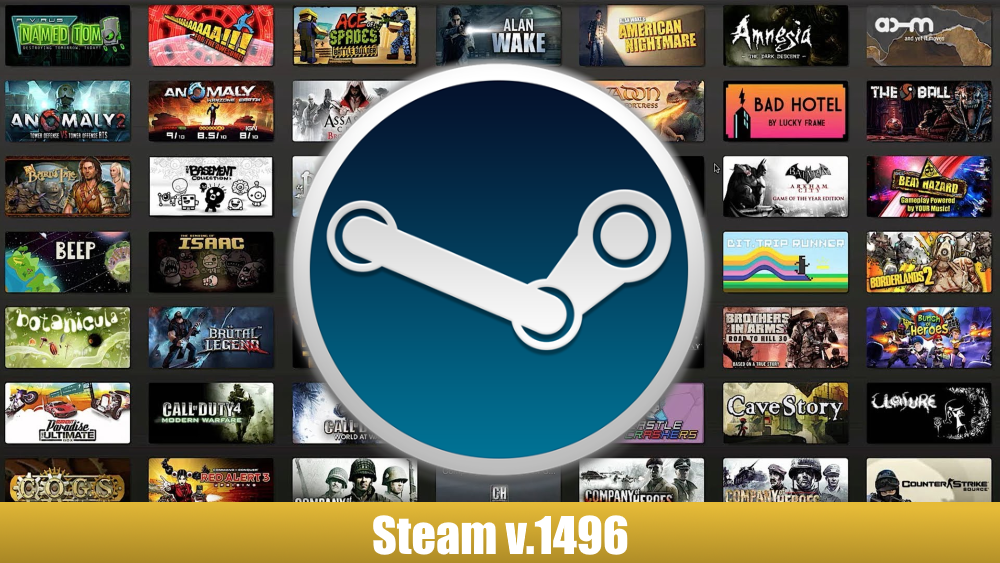 Steam v.1496