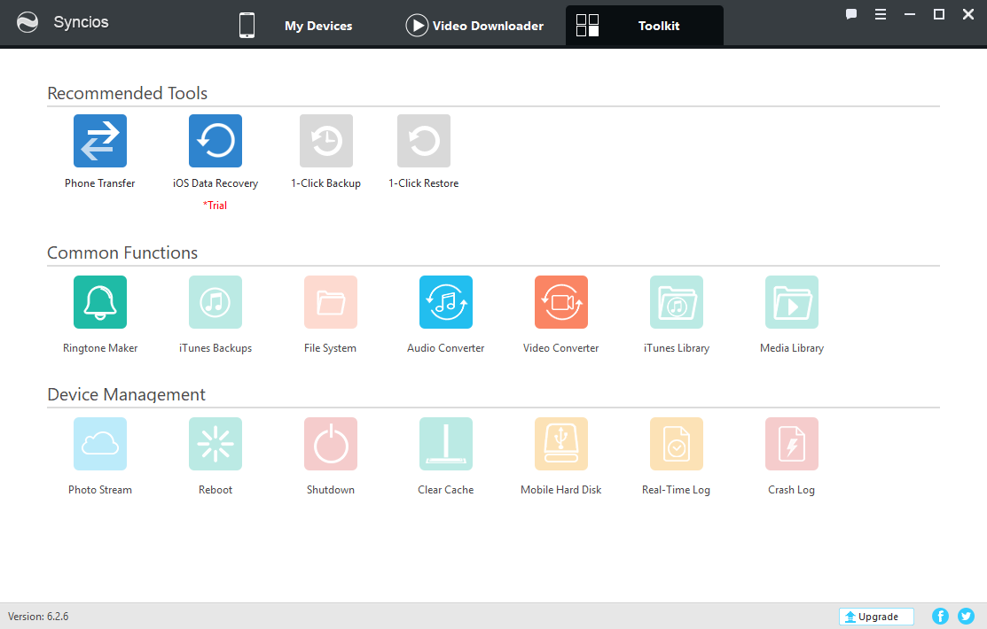 Syncios Manager 6.2.6
