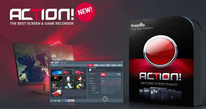 Action! 3.1.0 получил совместимость с обновлением Windows Spring Creators