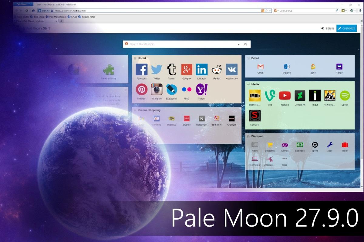 Pale Moon 27.9.0