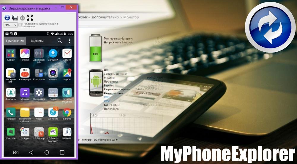 MyPhoneExplorer 1.8.9 ускорил передачу файлов на Android в 5 раз
