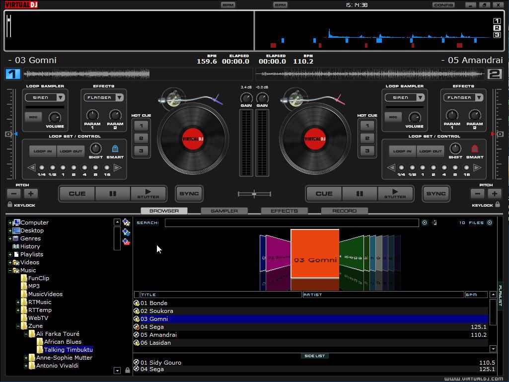 Virtual DJ Home 2018