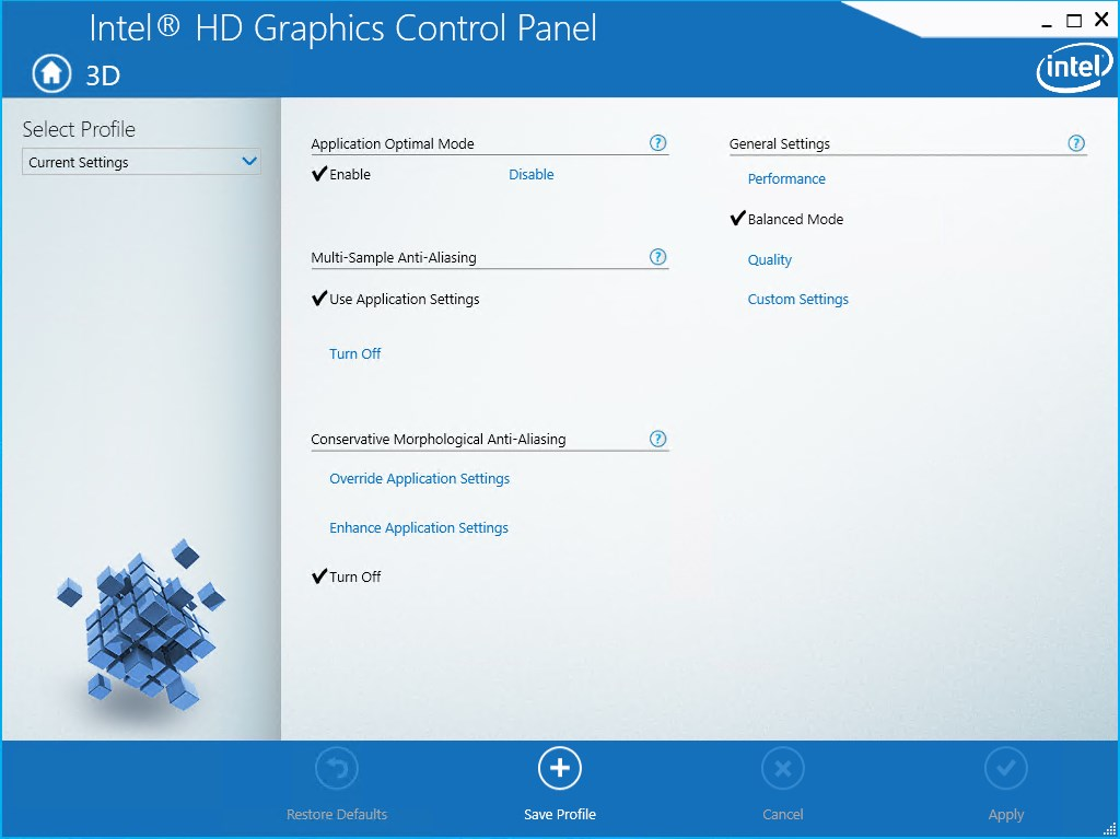 Intel HD Graphics Driver