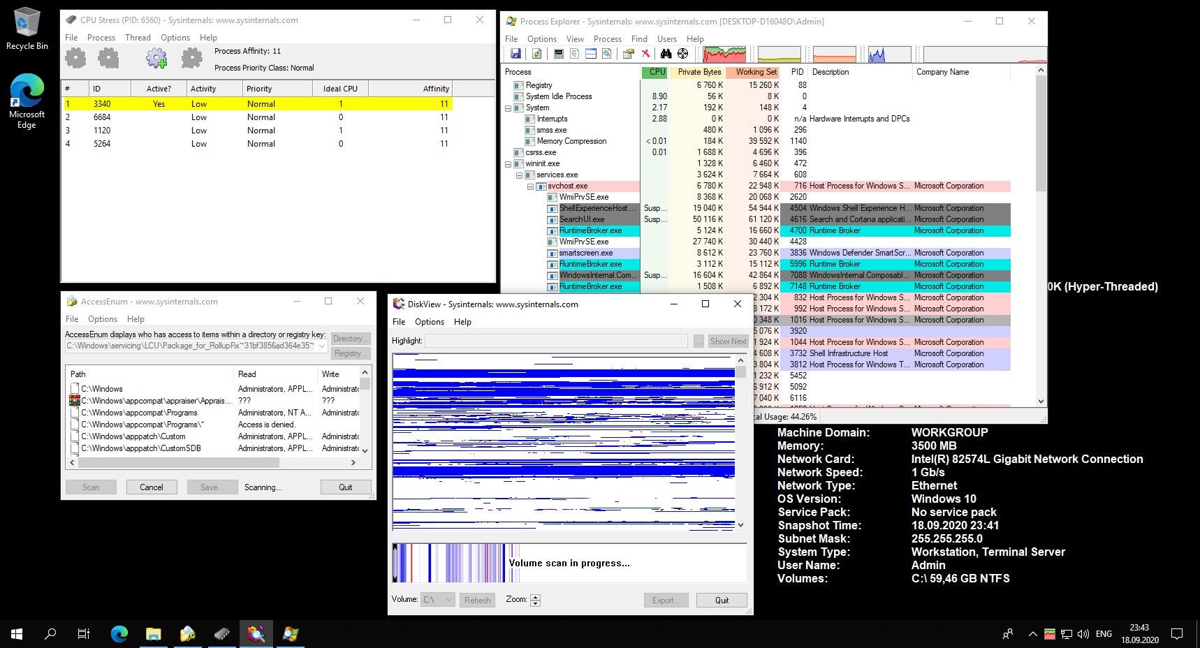 Windows Sysinternals Tools