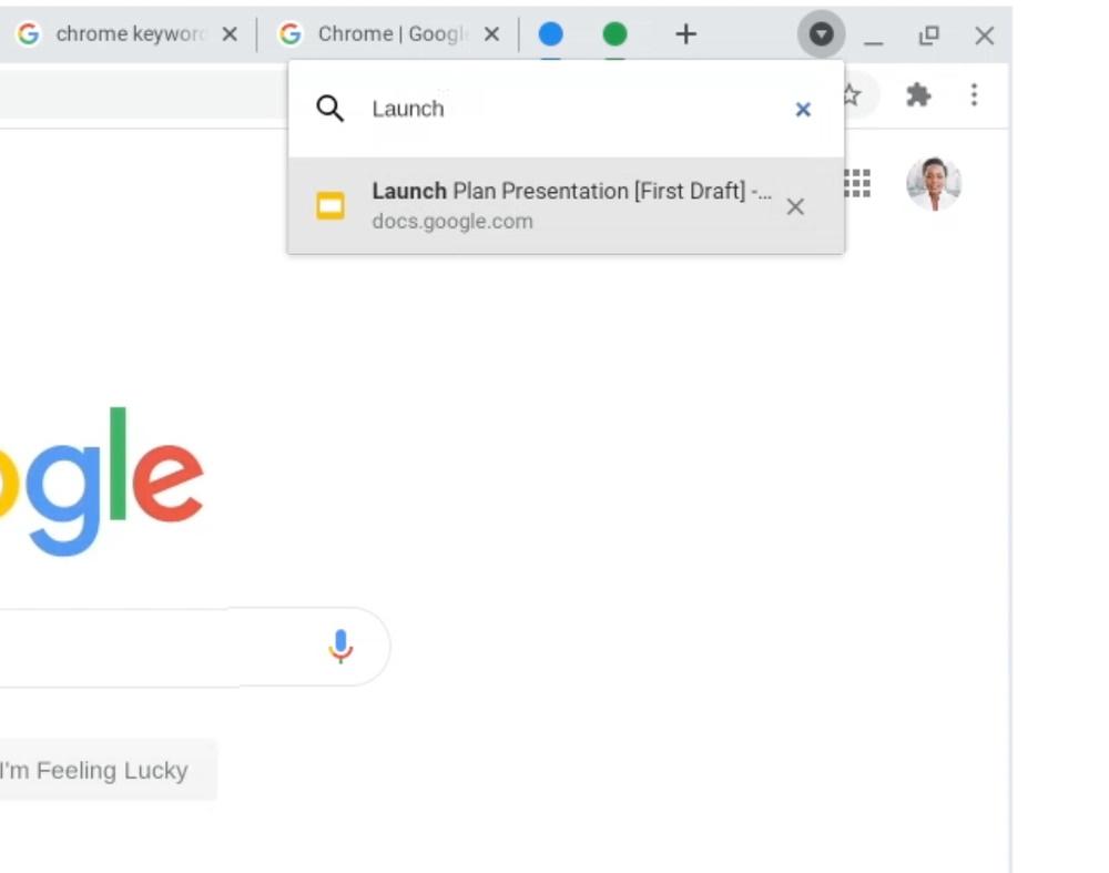 Улучшенная работа с вкладками в Chrome
